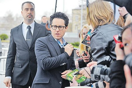 Actor Andrey Da! with J.J. Abrams (Movie Director, Producer)