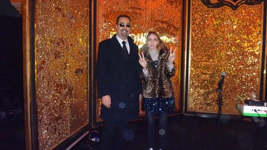 Actor Andrey Da! with Elon Musk's Fiancee Claire Boucher 'Grimes' (Musician)